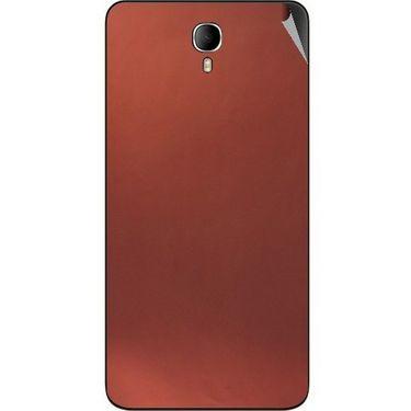 Snooky 43643 Mobile Skin Sticker For Intex Cloud M6 - Copper