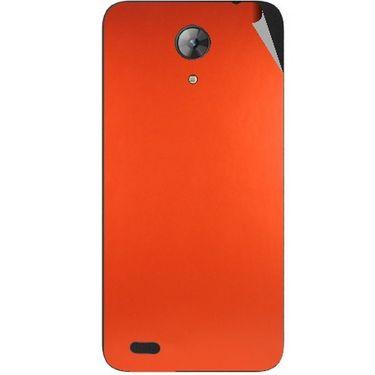 Snooky 43706 Mobile Skin Sticker For Intex Aqua Style Mini - Orange