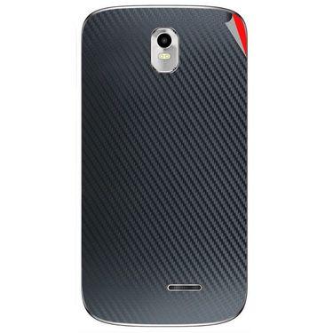 Snooky 43723 Mobile Skin Sticker For Lava Iris 402 Plus - Black