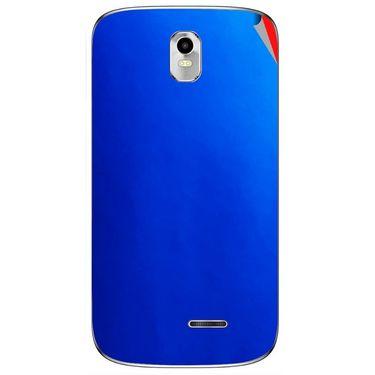 Snooky 43724 Mobile Skin Sticker For Lava Iris 402 Plus - Blue