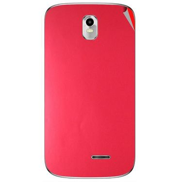 Snooky 43726 Mobile Skin Sticker For Lava Iris 402 Plus - Red