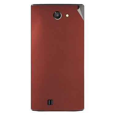 Snooky 43751 Mobile Skin Sticker For Lava Iris 456 - Copper