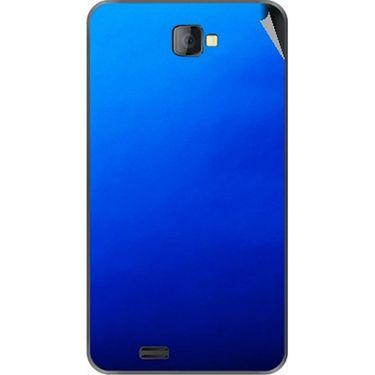 Snooky 43760 Mobile Skin Sticker For Lava Iris 502 - Blue