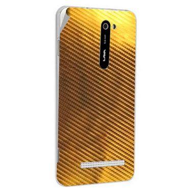 Snooky 43773 Mobile Skin Sticker For Lava Iris 503 - Golden