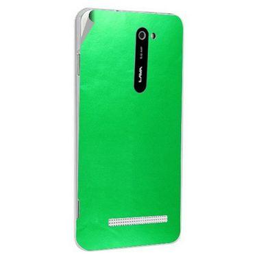 Snooky 43780 Mobile Skin Sticker For Lava Iris 503 - Green