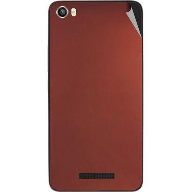 Snooky 43823 Mobile Skin Sticker For Lava Iris X8 - Copper