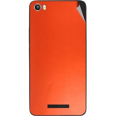 Snooky 43826 Mobile Skin Sticker For Lava Iris X8 - Orange