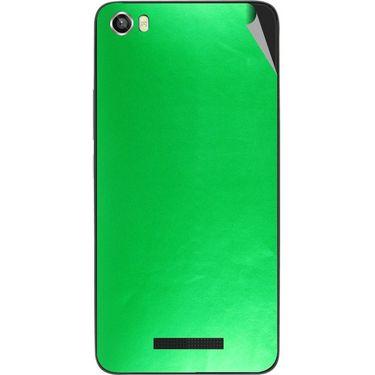 Snooky 43828 Mobile Skin Sticker For Lava Iris X8 - Green