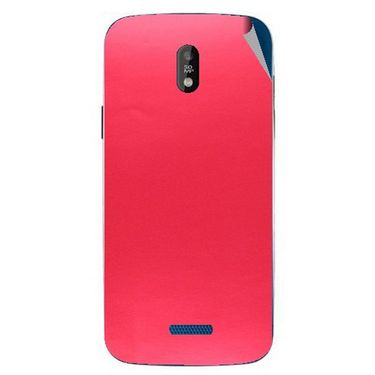 Snooky 43834 Mobile Skin Sticker For Lava Iris 450 - Red
