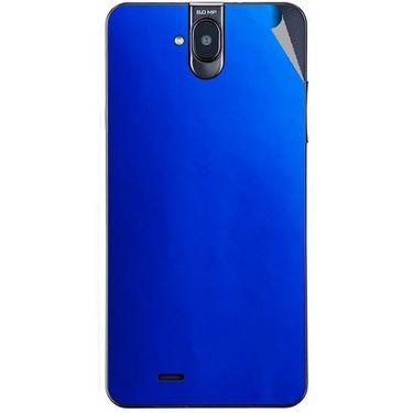 Snooky 43844 Mobile Skin Sticker For Lava Iris 550Q - Blue