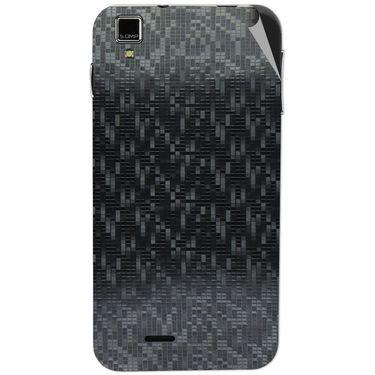 Snooky 43860 Mobile Skin Sticker For Lava Iris 405 Plus - Black