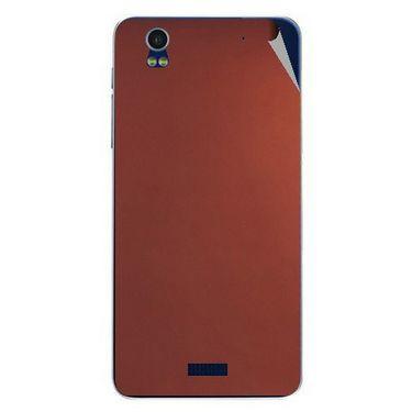 Snooky 43871 Mobile Skin Sticker For Lava Iris Pro 20 - Copper