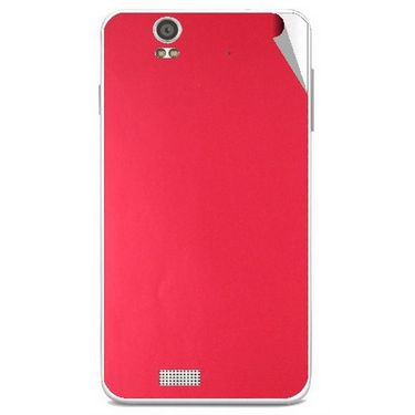 Snooky 43894 Mobile Skin Sticker For Lava Iris X5 - Red