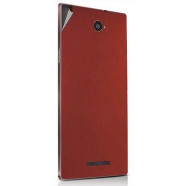 Snooky 43919 Mobile Skin Sticker For Lava Magnum X604 - Copper
