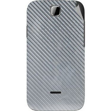 Snooky 43938 Mobile Skin Sticker For Micromax Ninja 3.5 A54 - silver