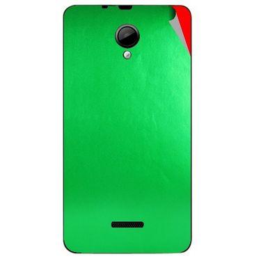 Snooky 43960 Mobile Skin Sticker For Micromax Canvas Fun A76 - Green