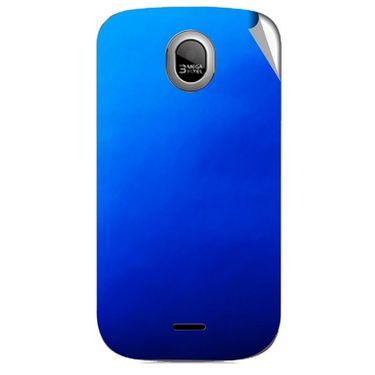 Snooky 43976 Mobile Skin Sticker For Micromax Ninja A89 - Blue