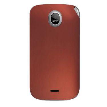 Snooky 43979 Mobile Skin Sticker For Micromax Ninja A89 - Copper