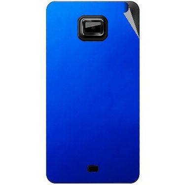 Snooky 44012 Mobile Skin Sticker For Micromax Ninja A91 - Blue