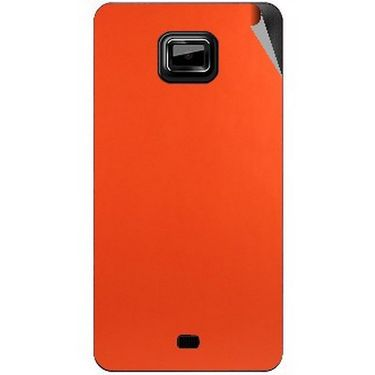 Snooky 44018 Mobile Skin Sticker For Micromax Ninja A91 - Orange