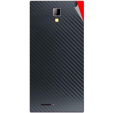 Snooky 44071 Mobile Skin Sticker For Micromax Canvas Xpress A99 - Black