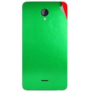 Snooky 44140 Mobile Skin Sticker For Micromax Canvas Unite 2 A106 - Green