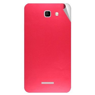 Snooky 44146 Mobile Skin Sticker For Micromax Canvas XL2 A109 - Red