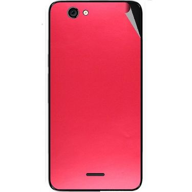 Snooky 44278 Mobile Skin Sticker For Micromax Canvas knight cameo A290 - Red