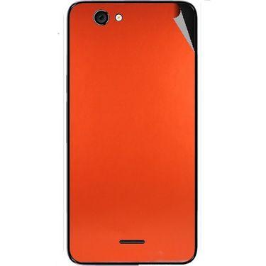 Snooky 44282 Mobile Skin Sticker For Micromax Canvas knight cameo A290 - Orange