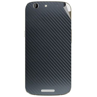 Snooky 44287 Mobile Skin Sticker For Micromax Canvas A300 - Black