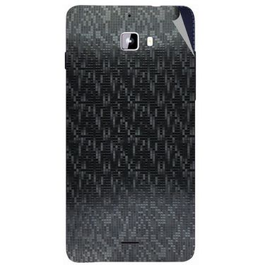 Snooky 44304 Mobile Skin Sticker For Micromax Canvas Nitro A310 - Black