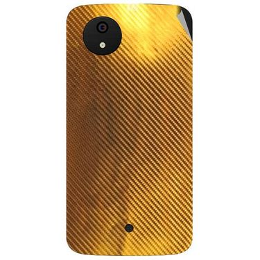 Snooky 44349 Mobile Skin Sticker For Micromax Micromax Android One - Golden