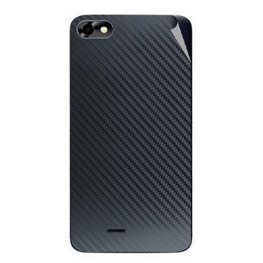 Snooky 44359 Mobile Skin Sticker For Micromax Micromax Bolt D321 - Black
