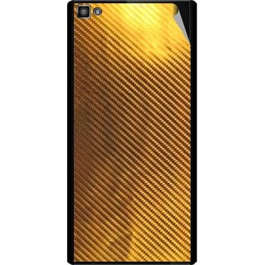 Snooky 44385 Mobile Skin Sticker For Xolo Hive 8X 1000 - Golden