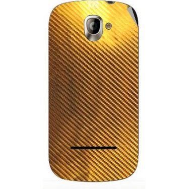 Snooky 44397 Mobile Skin Sticker For Xolo A500 - Golden