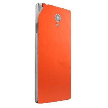 Snooky 44414 Mobile Skin Sticker For Xolo A500 Club - Orange