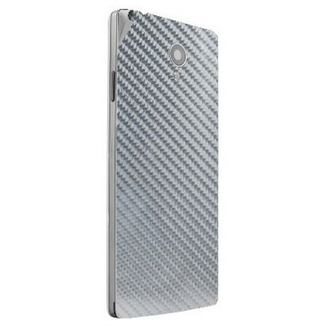 Snooky 44418 Mobile Skin Sticker For Xolo A500 Club - silver