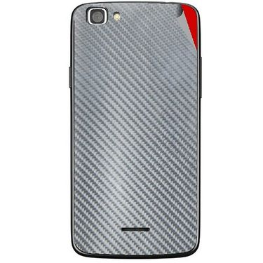 Snooky 44442 Mobile Skin Sticker For Xolo A500s Lite - silver