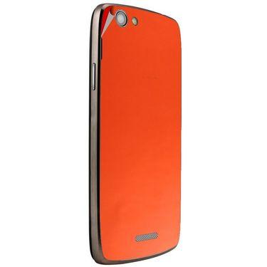 Snooky 44450 Mobile Skin Sticker For Xolo A510S - Orange