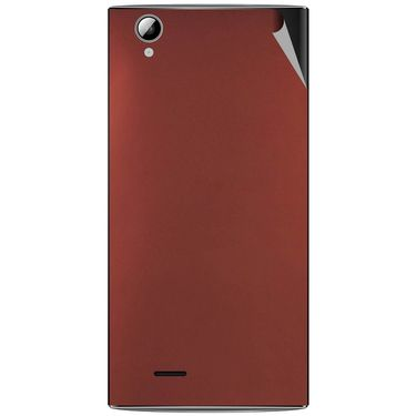 Snooky 44471 Mobile Skin Sticker For Xolo A600 - Copper