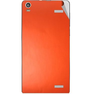 Snooky 44486 Mobile Skin Sticker For Xolo A1000s - Orange