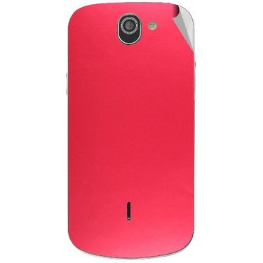 Snooky 44542 Mobile Skin Sticker For Xolo Q600 - Red
