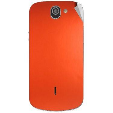 Snooky 44546 Mobile Skin Sticker For Xolo Q600 - Orange