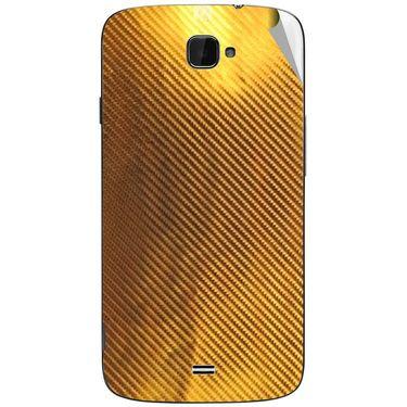 Snooky 44649 Mobile Skin Sticker For Xolo Q1000 Opus - Golden