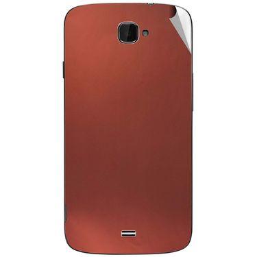Snooky 44651 Mobile Skin Sticker For Xolo Q1000 Opus - Copper