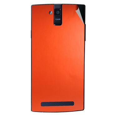 Snooky 44690 Mobile Skin Sticker For Xolo Q2000 - Orange