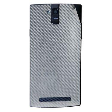 Snooky 44694 Mobile Skin Sticker For Xolo Q2000 - silver
