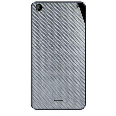 Snooky 44706 Mobile Skin Sticker For Xolo Q2000L - silver