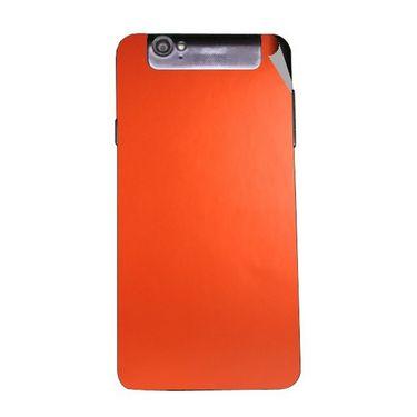 Snooky 44714 Mobile Skin Sticker For Xolo Q3000 - Orange