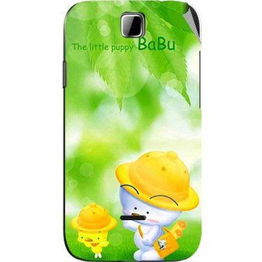 Snooky 45882 Digital Print Mobile Skin Sticker For Micromax Ninja 3.5 A54 - Green